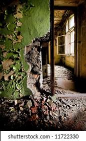 Old broken interior