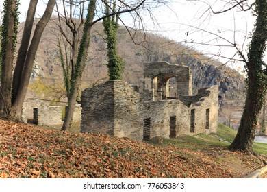 old broken walls