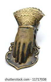 Old bronze clamping