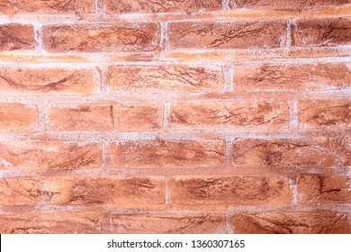 Old brown brick wall background or texture.