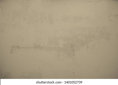 old, brown, concrete wall, stone wall. Textured cement wall in industrial style as background and creative element for art
