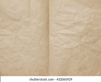 old brown fold paper texture
