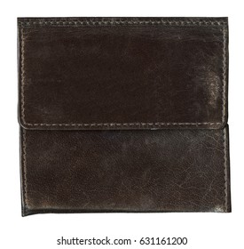 old brown leather background,seams