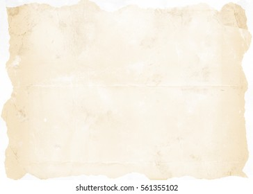 Old brown paper background. Paper texture.