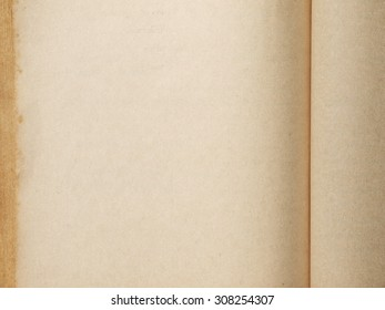 Old brown paper notebook background