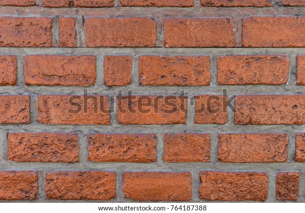 Old Brown Wall Brick Lacquer Coat Stock Photo (Edit Now) 764187388