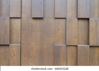 Old brown wooden fence background texture close up