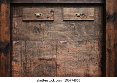 old brown wooden furniture texture