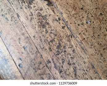 old brown worn wood floor