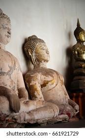 Old buddha images