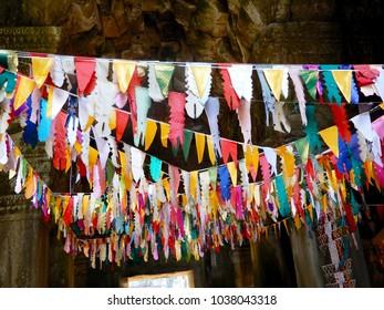 Old buddhist temple in Cambodia