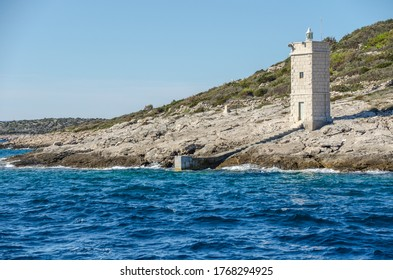 Old building across Croatia coast - Shutterstock ID 1768294925