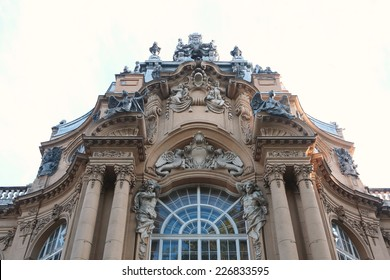 Old building, Beautiful facade of the old building