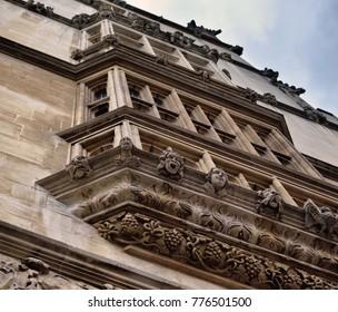 Old building facade in Oxford