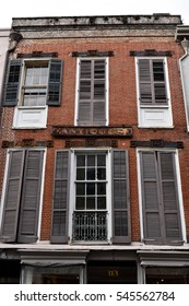 Old building - French Quarter, New Orleans, LA, USA