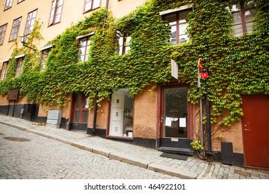Old building in Gamla Stan, Stockholm, Sweden.