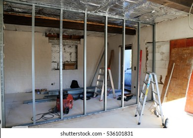 Old Building is getting structural resorated (Interior shot)
