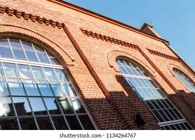 Old building made of bricks