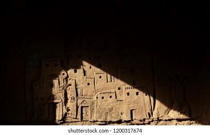 Old building Oasis El dakhla ,Egypt