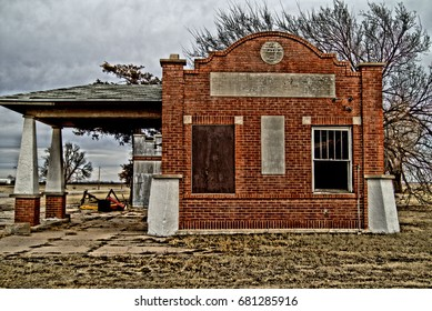 Old building in Oklahoma