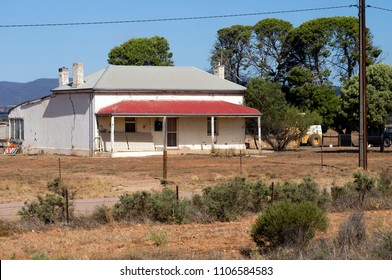Old building on outskirts of Quorn, South Australia