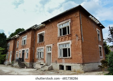 Old building from Romania, old building in renovation