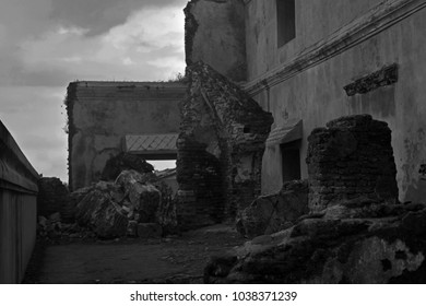 Old building and ruins
