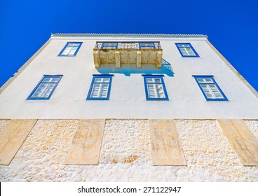 old building in Spetses island in Greece