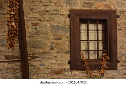 old building and old window