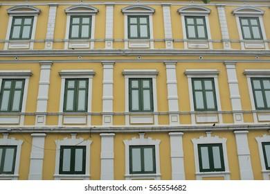 Old building window