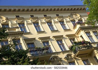 Old buildings in Berlin - real estate