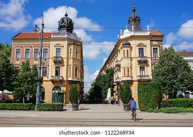 Old buildings of Debrecen city, Hungary