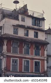 Old buildings of Kathmandu