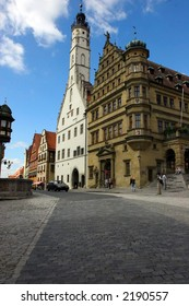 Old Buildings in Rothenburg, Germany
