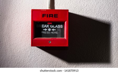old button fire alarm