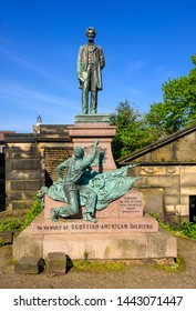 The Old Calton Burial Ground is a graveyard at Calton Hill, in Edinburgh, and Lincoln is the only US president to have a memorial in Scotland.
