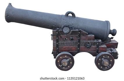 Old cannon artillery battle antique weapon