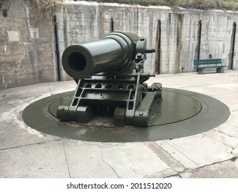 Old Canon at a Fort in Florida