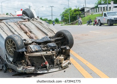 Car Upside Down Images, Stock Photos & Vectors | Shutterstock