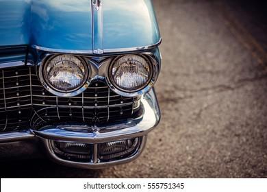 Old Car Close-Up