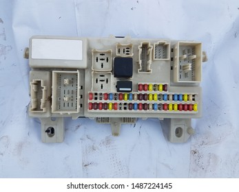 Car Fuse Images, Stock Photos & Vectors | Shutterstock Old Car Fuse Box on