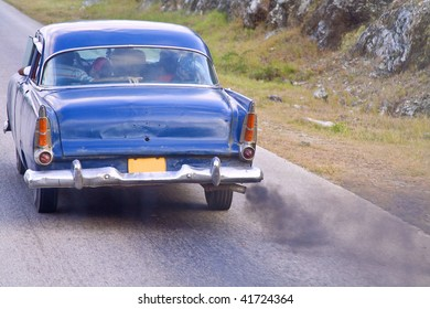 old car polution and smog