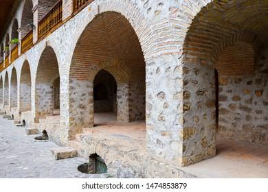 Old Caravanserai, Caravan Camping place in Sheki, Azerbaijan.