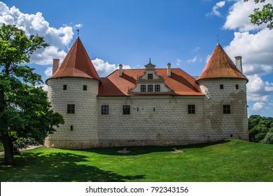 Old castel in Bauska, Latvia