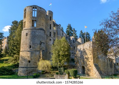 The old castle of Beaufort in Mullerthal, Luxembourg