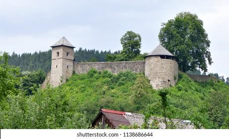 old castle Brumov,Czech republic