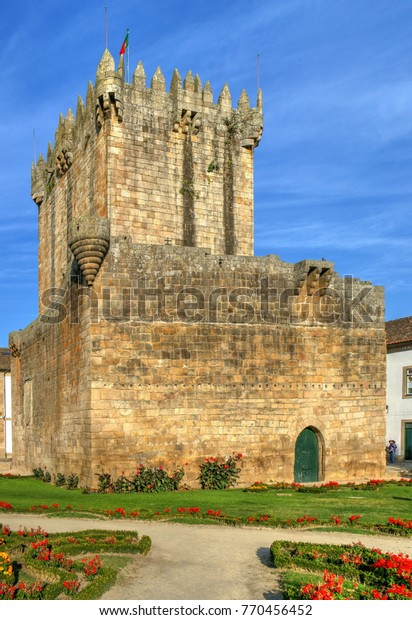 Old castle of Chaves, North of Portugal