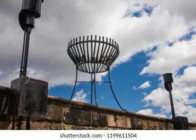 old castle firepit
