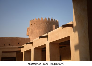 Old Castle in the north of Qatar