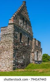 Old Castle ruins gables